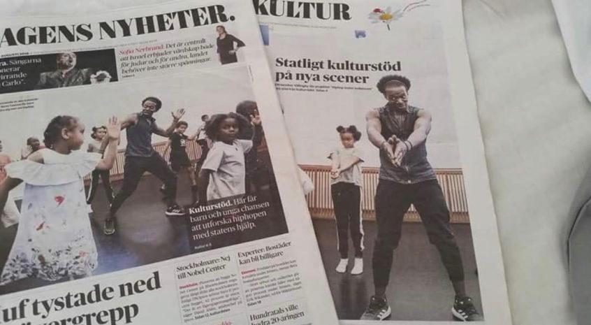 Dagens Nyheter skriver om HTK